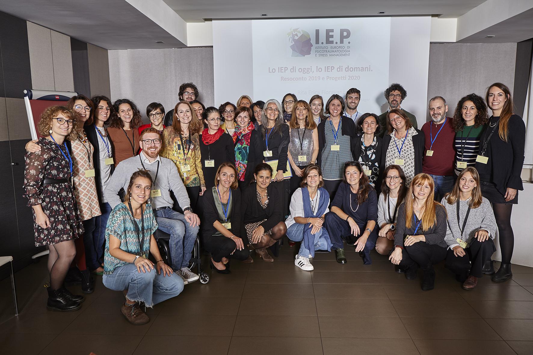 il team IEP al meeting 2019