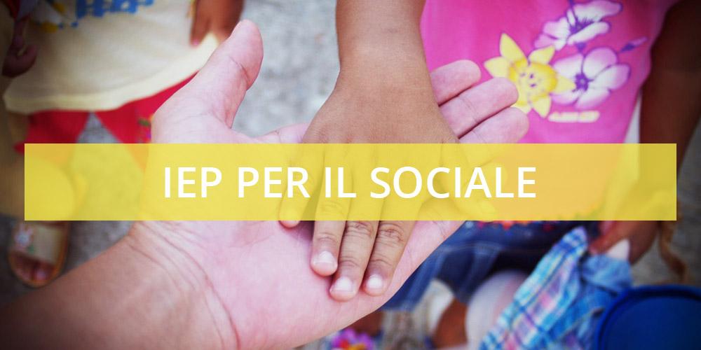 IEP per il sociale