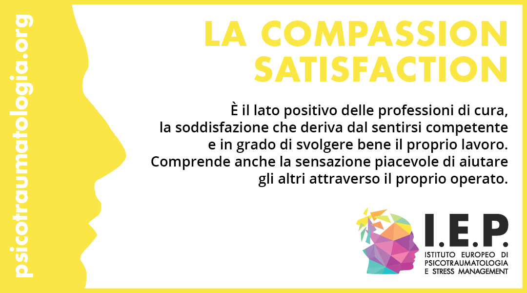 Compassion satisfaction, IEP